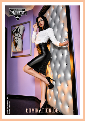 Domination Onlineshop Spezialist für Lack Leder Latex Highheels